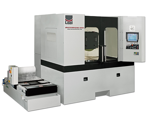 Meccaniche Lodi - Horizontal Grinding Machine with Rotary Table RTR series