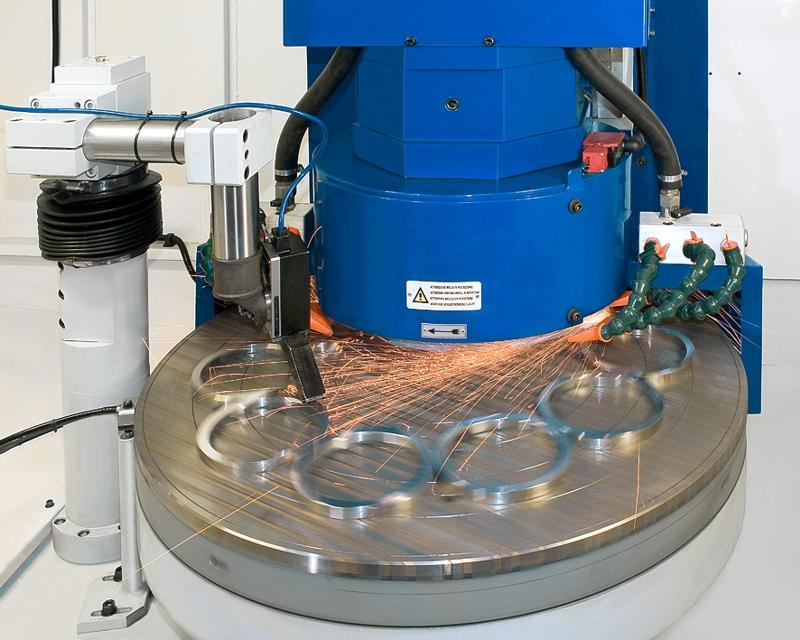 Meccaniche Lodi Vertical Grinding Machines